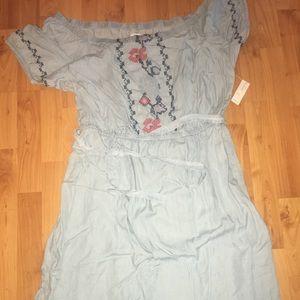 OLD Navy XL Dress NWT off shoulder